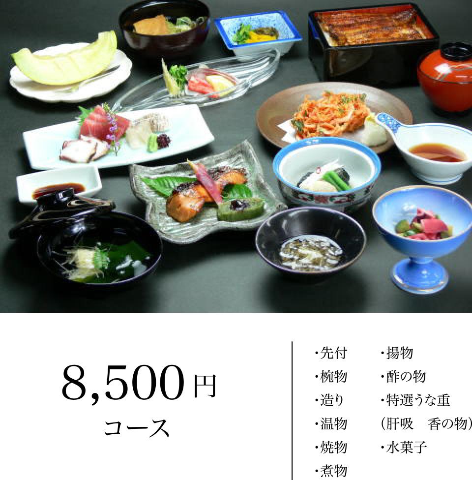 8,500円コース